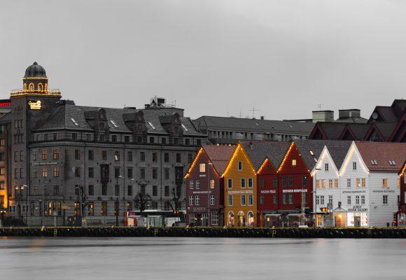 Berggen-Bryggen-Norwegen