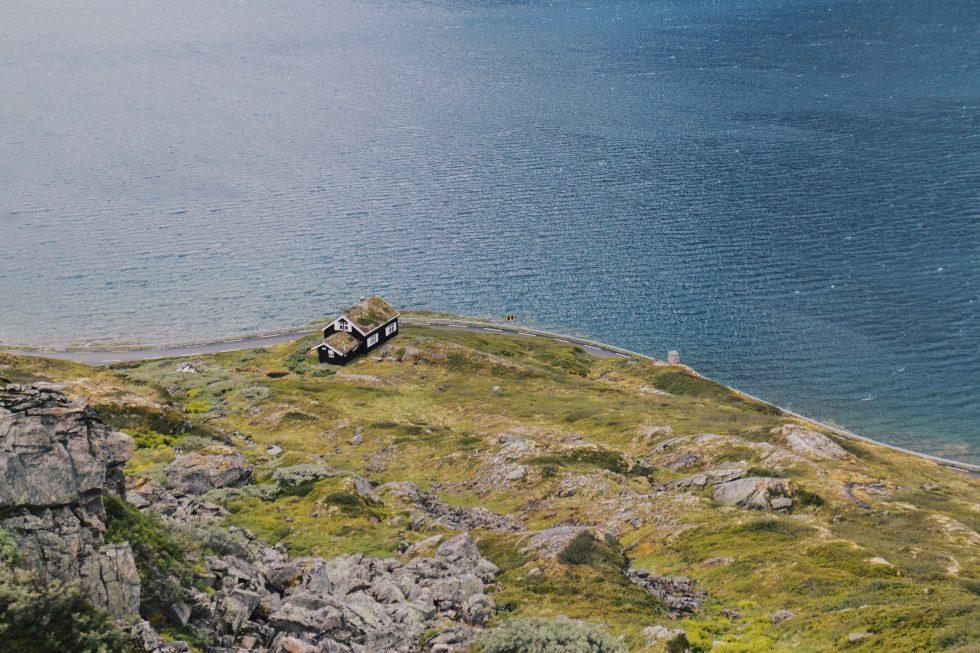Einsames-Haus-Norwegen