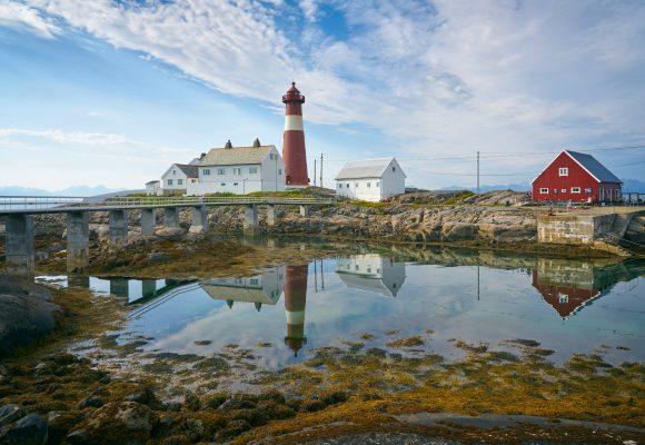 Leuchtturm-Norwegen